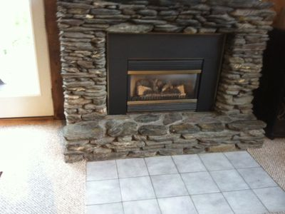 Killington house rental - Gas fire place