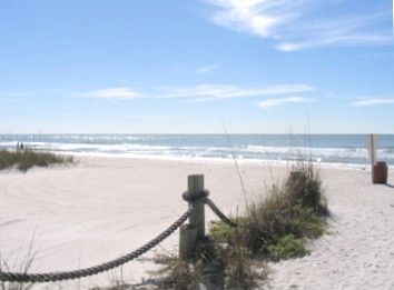 Redington Beach condo rental - Beach Access