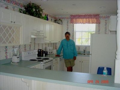 Little Cayman condo rental - Our kitchen