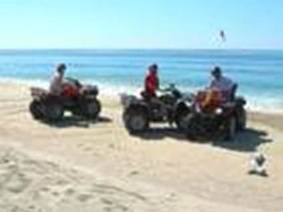 Ultimate 5 star ATV riding, on the beach or the trails...!!!
