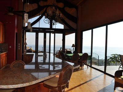 Expansive ocean views