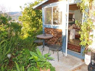 Ventura cottage rental - Patio