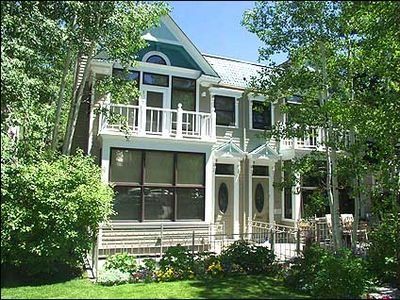 Aspen house rental - New Victorian Style Townhouse