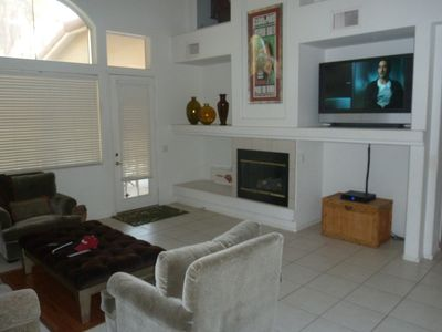 Las Vegas house rental - Great room w 30 ft ceiling