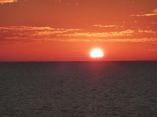 Les Falls condo photo - Enjoy spectacular sunsets from lanai which directly faces gulf!