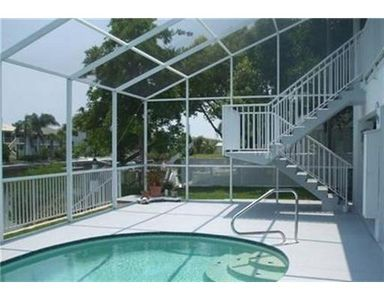 Hernando Beach house rental - spend an afternoon at the pool- having your own pool means privacy