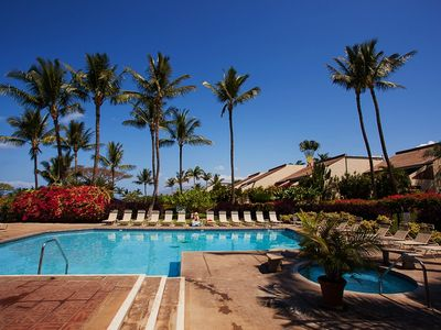 Kihei condo rental - Lower Pool complex, just steps from the unit