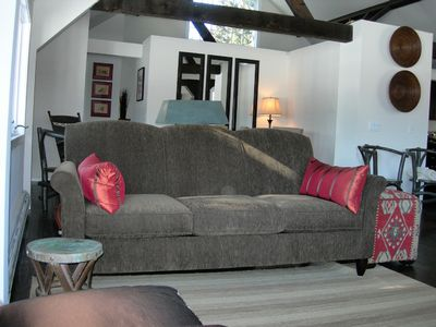 Salisbury barn rental - Living Area
