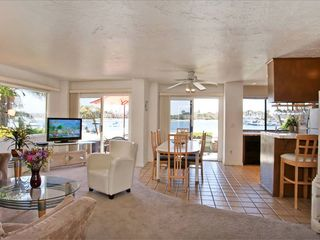 Mission Beach house photo - Lower unit - Open floor plan with wonderful views
