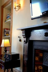 Edinburgh apartment rental - Victorian Apartment with many original features