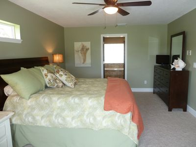 Master Bedroom - king bed - Sterns & Foster pillow top mattress!