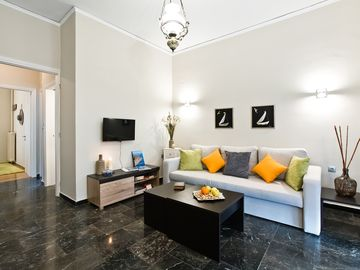 Centrally located apartment and yet quiet living.