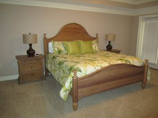 Tybee Island condo photo - Master Bedroom with King bed