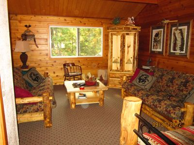 Leavenworth cabin rental - Heard they were planning a rain dance tonight!