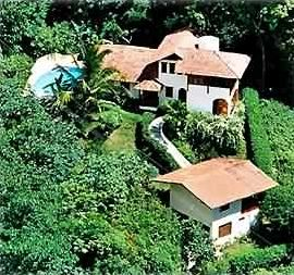 View of Villa La Macha from the air