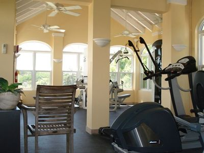 Fitness Center available to guests on adjacent property