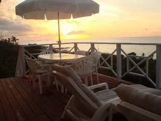 Cayman Brac house photo - perfect sunsets every night over the Caribbean