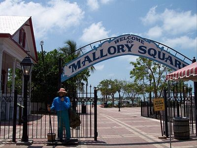 Entering Mallory Square
