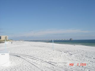 Fort Walton Beach condo photo - View of the pier within walking distance from the condo