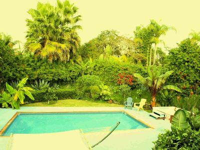 Private Tropical Backyard with Heated Pool and Spa...enJoy Old California!