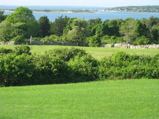Chilmark house photo - the view: meadows, ponds, ocean and far islands