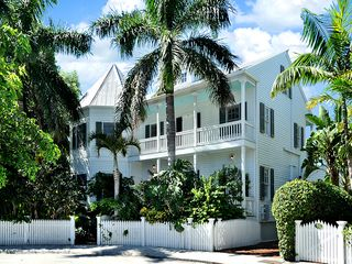 Key West house photo - A gorgeous home on a quiet cul-de-sac in Key West's most desirable neighborhood.