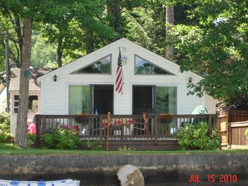 Newfound Lake cottage rental - Lake Front Cottage
