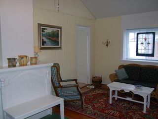 South Haven cottage photo - Comfortable and Charming Living Room.