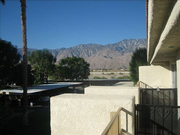 Cathedral City condo rental - Front Balcony Views