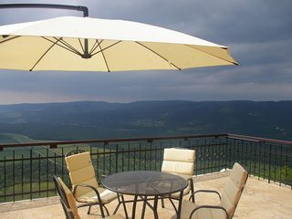 Motovun apartment photo - Terrace at Villa Borgo