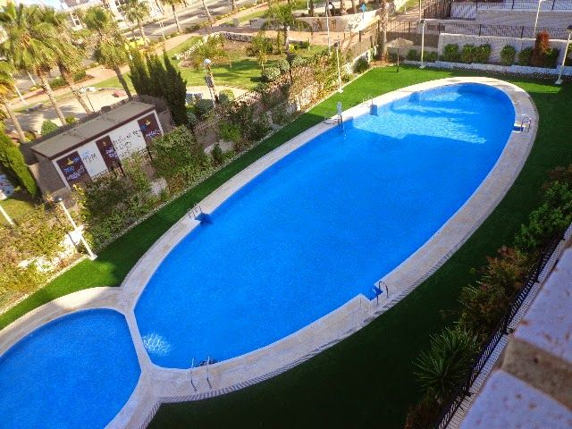 Apartments 120m from the beach, facing the enchanted garden in Marina Dor