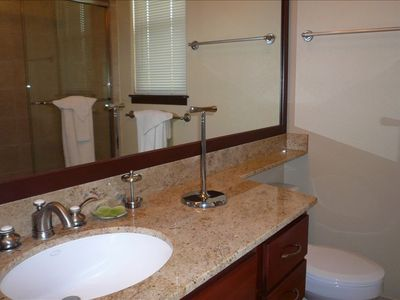 Two Luxury Bathrooms With Shower and Soaking Tub in the Master