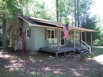 2br cabin vacation rental in lake lure north carolina for Cabin lake north carolina