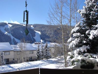 View skiers day and night on the beautiful Keystone slopes
