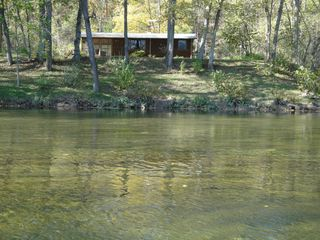 Luray cabin photo - View of Cabin from River