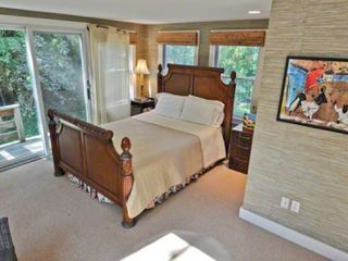 Vineyard Haven house photo - Bedroom #1 - Master Suite Has Queen Bed & Full Bath With Shower. First Floor