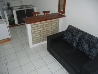 Pipa e Tibau do Sul apartment photo - Living area with sofa