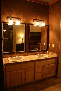 Master Bathroom His/Her Sinks