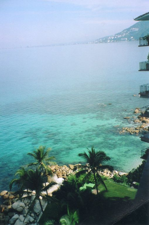 View from Lanai Looking toward Puerto Vallarta