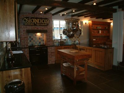 Looe house rental - The old restaurant kitchen