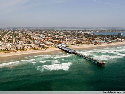Picture of Pacific Beach, Mission Beach, and Crystal Pier