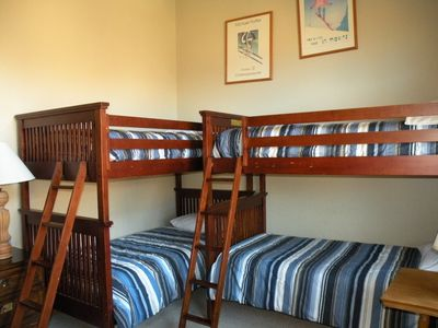 Bunk room - sleeps 4 - has jack and jill bathroom with other bunk room