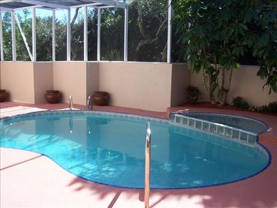 Screened Heated Pool & Spa