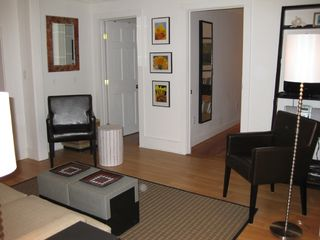 Living Room: another view - Provincetown condo vacation rental photo