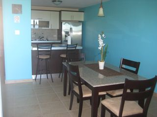 Aguadilla condo photo - Dining Room with A/C and Fully Equipped Modern Kitchen