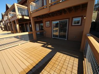 Fraser townhome photo - The big deck
