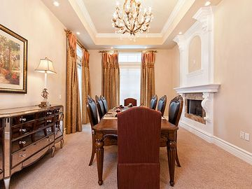 Formal Dining Room Seats 8