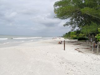 Bonita Springs condo photo - Barefoot Beach across from Condo