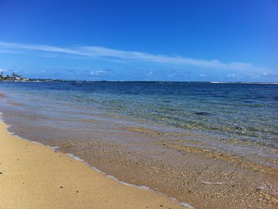Crystal clear waters of Hauula Bay