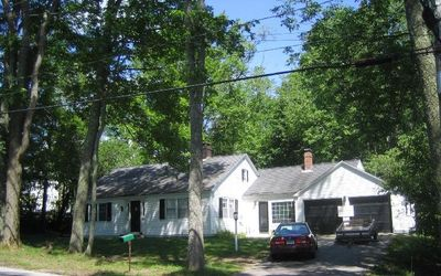 Estabrooke Cottage, on a quiet street in the Village of Castine